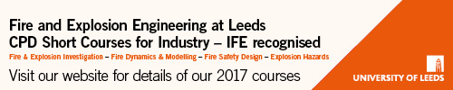 UCLAN Lecturers in Fire Safety Engineering